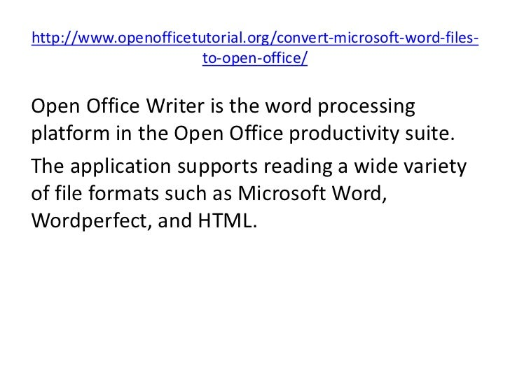 open office convert pdf to word