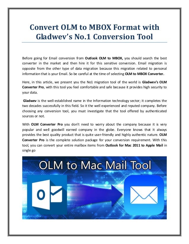 Convert Olm To Mbox Format