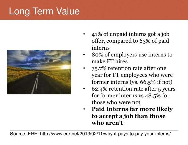 paid vs unpaid internship