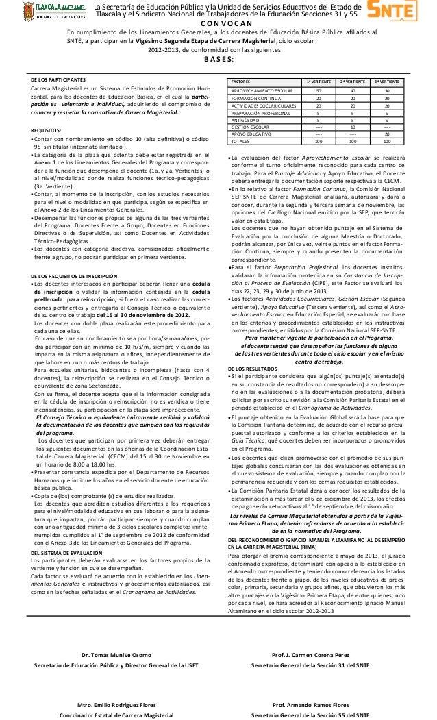 La Secretaría de Educación Pública y la Unidad de Servicios Educativos del Estado de                          Tlaxcala y e...