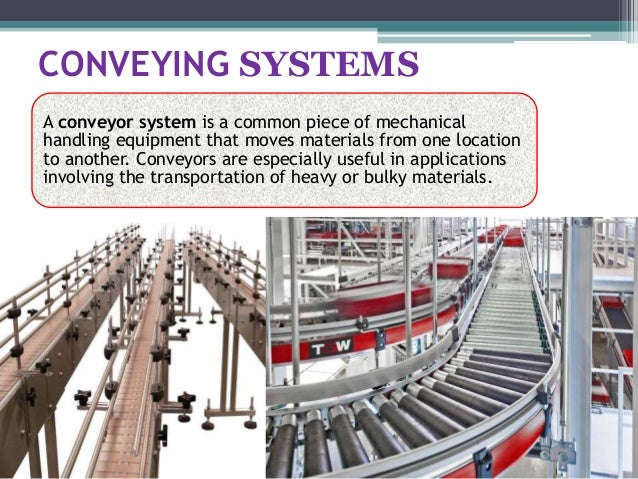 Conveyors And Types