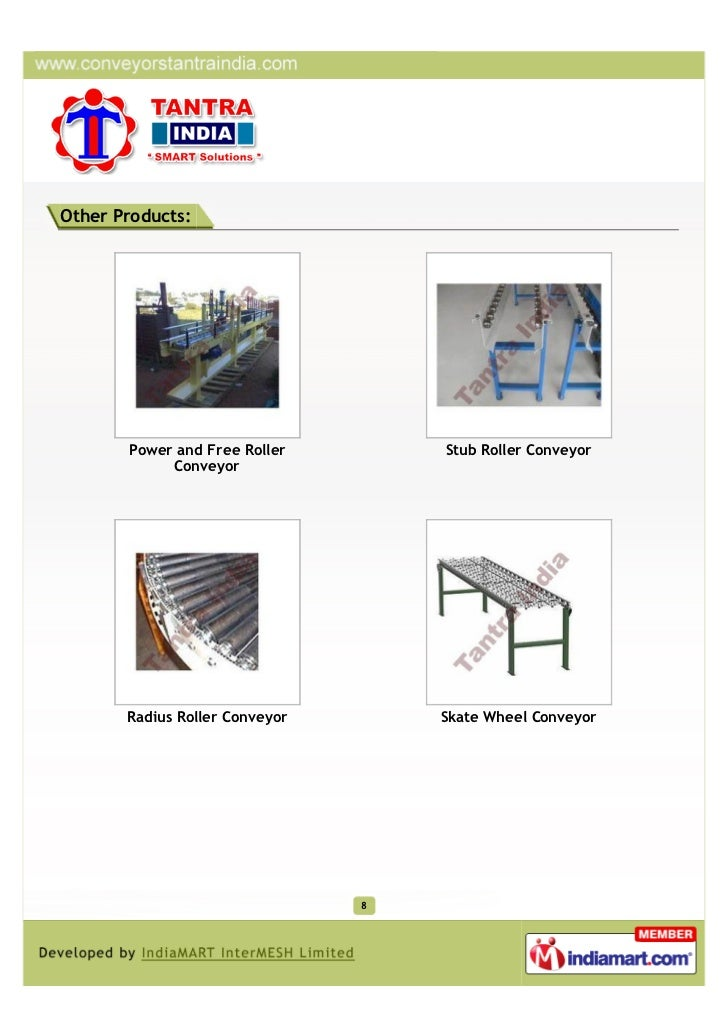 Other Products:       Power and Free Roller        Stub Roller Conveyor            Conveyor       Radius Roller Conveyor  ...