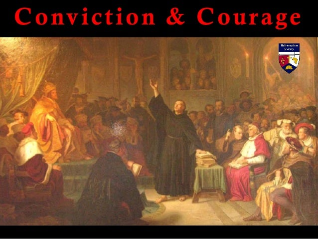 Conviction & Courage