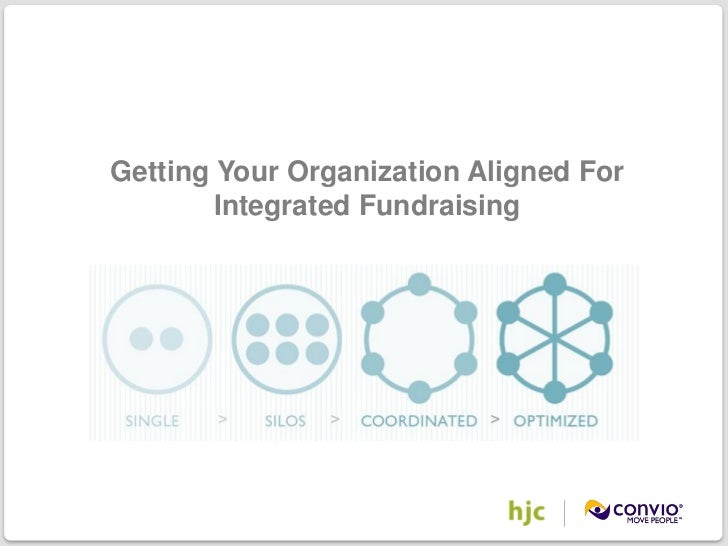 Getting Your Organization Aligned For                       Integrated Fundraising©2011 Convio, Inc. | Page 1