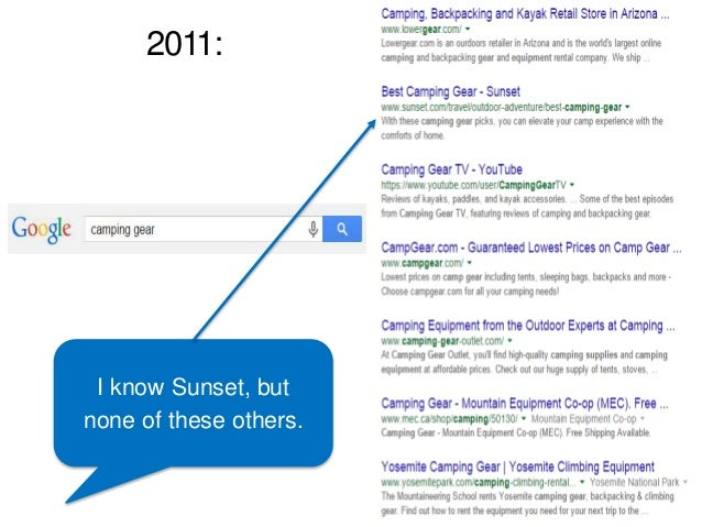 2011: I know Sunset, but none of these others.