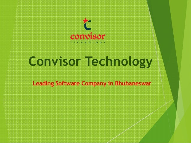 Convisor Technology Leading Software Company in Bhubaneswar