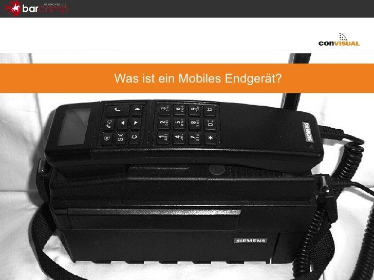 Was ist ein Mobiles Endgerät?