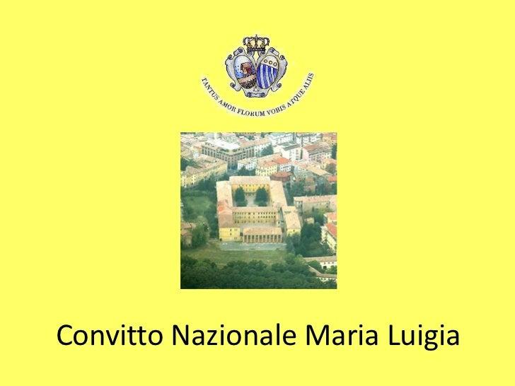 Convitto Nazionale Maria Luigia