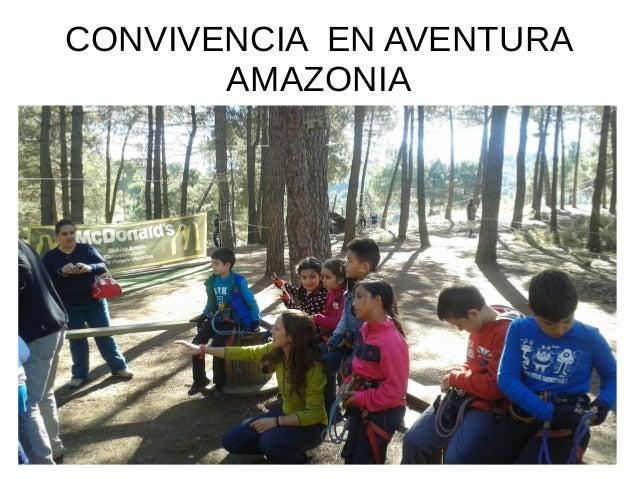 CONVIVENCIA EN AVENTURA AMAZONIA