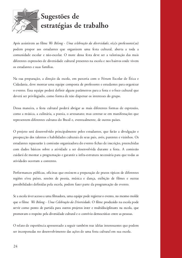 Conviv ncia democr tica inclus o e exclus o social for Propuesta para una cantina escolar