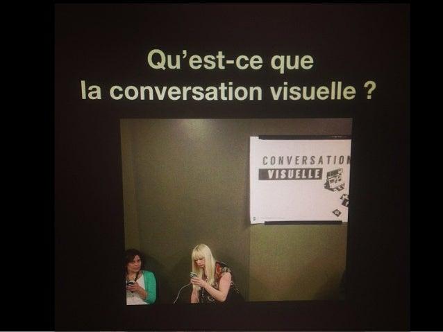 Qu'est-ce quela conversation visuelle ?