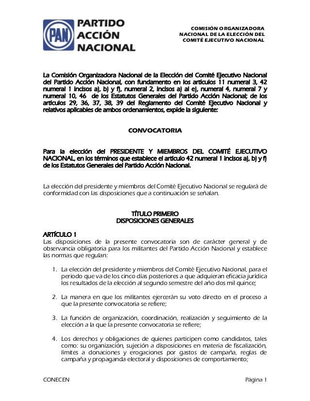 """COMISIÓN ORGANIZADORA NACIONAL DE LA ELECCIÓN DEL COMITÉ EJECUTIVO NACIONAL        -+ !./)0)1* """"r(..."""