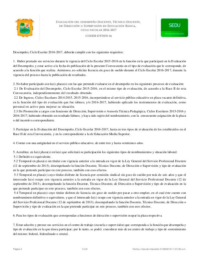 Convocatoria coahuila for Convocatoria plazas docentes 2016