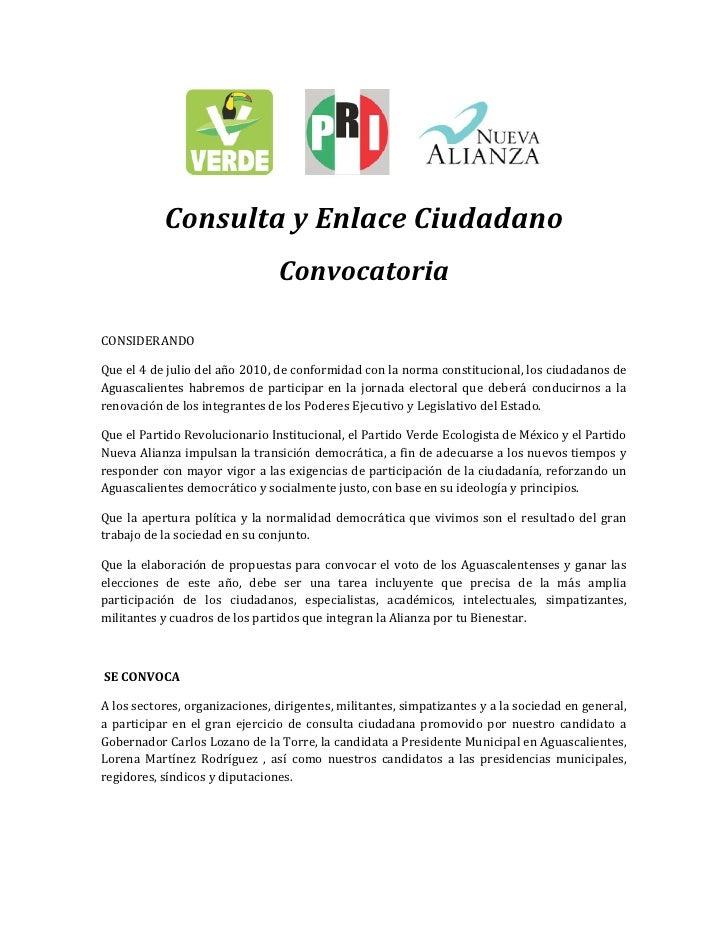 ConsultayEnlaceCiudadano                                    Convocatoria   CONSIDERANDO  Queel4de...