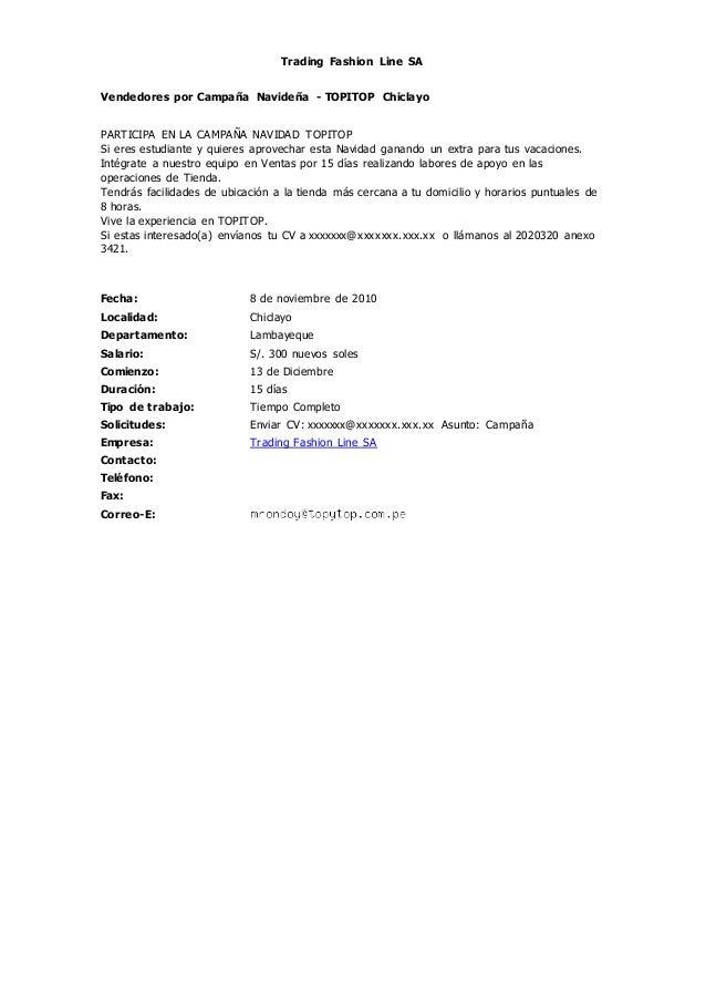 Trading Fashion Line S.A. - UniversidadPeru 8