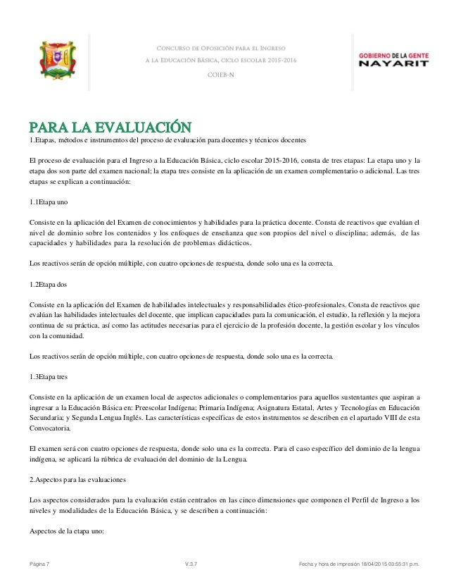 Convocatoria servicio profesional docente escuelas for Convocatoria para las plazas docentes 2016