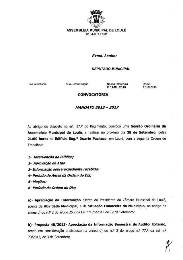 Convocatoria sessao ordinaria da assembleia municipal 28 de setembro de 2015.doc