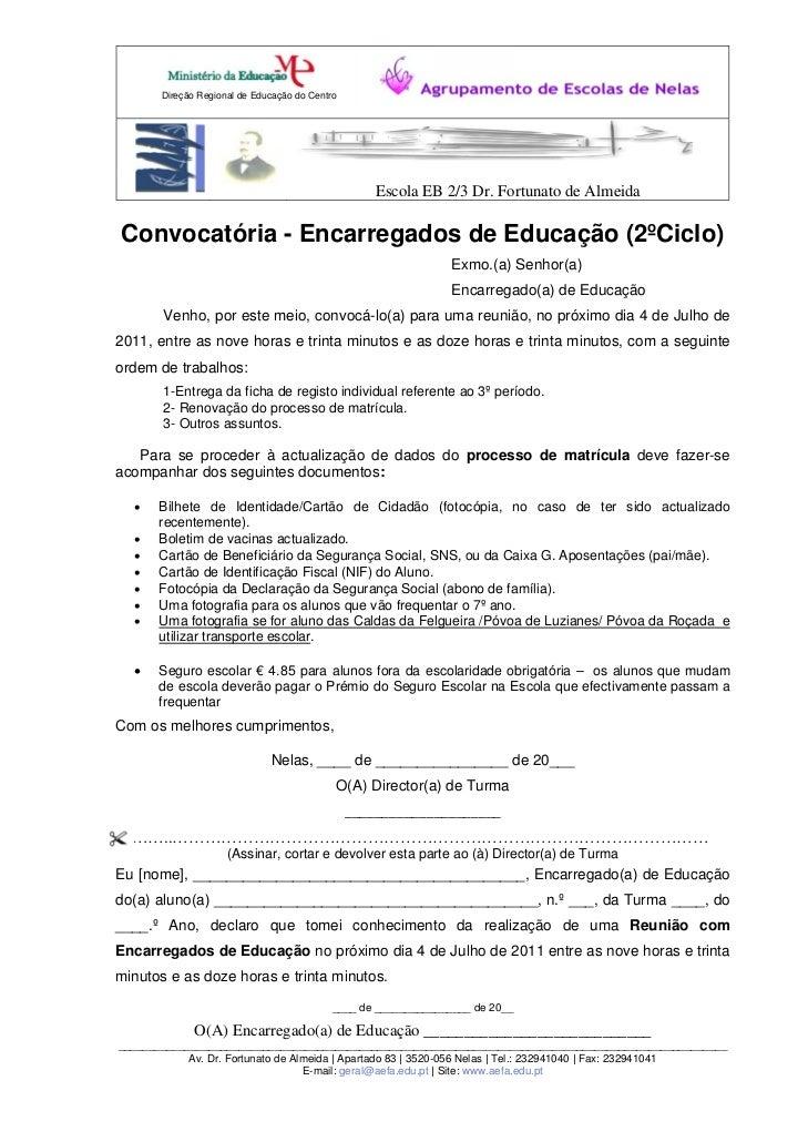 Direção Regional de Educação do Centro                                                    Escola EB 2/3 Dr. Fortunato de A...