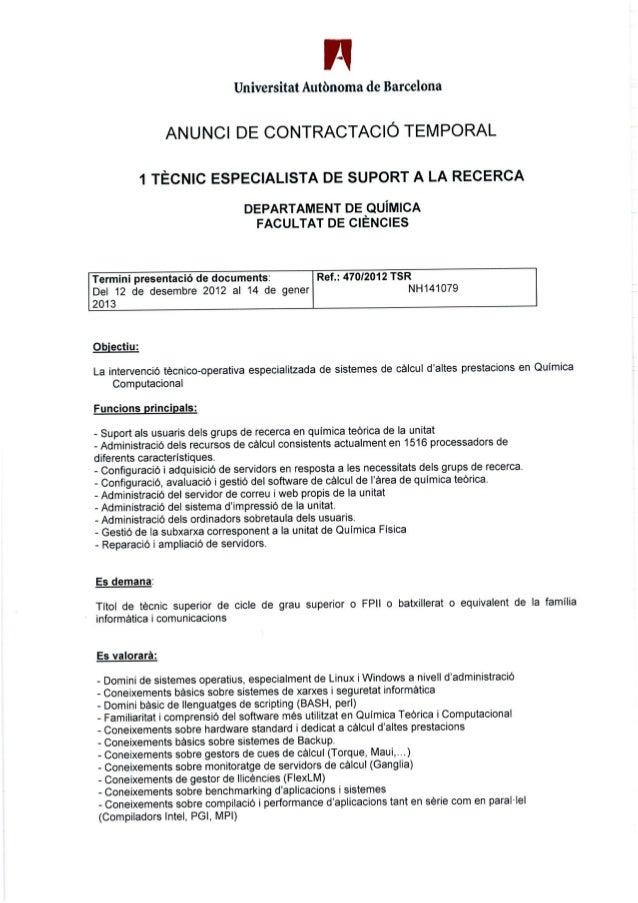 Convocatòria tècnic suport (21.12.12)