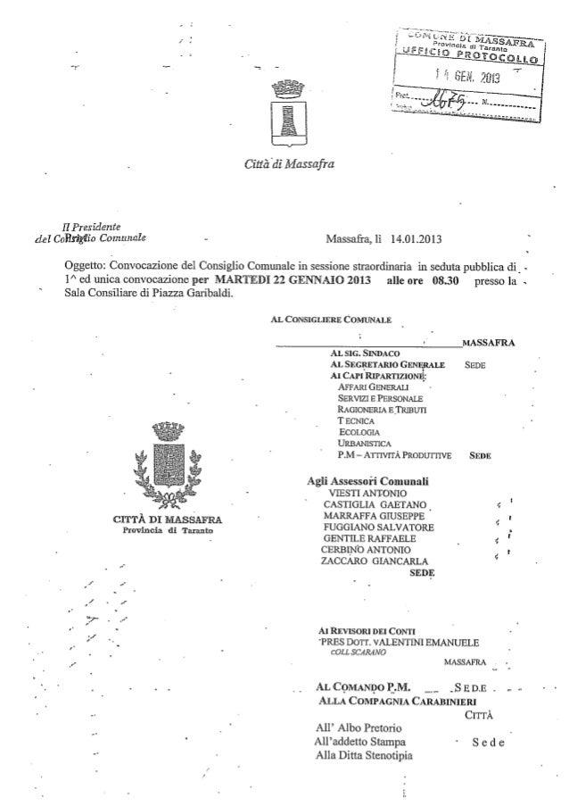 Convocazione consiglio comunale per il regolamento scrutatori