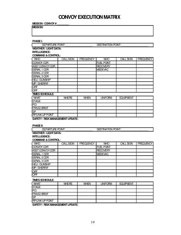 Convoy Leader Training Handbook