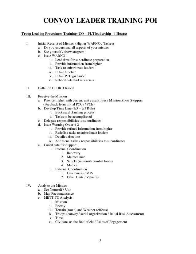 Convoy leader-training-handbook