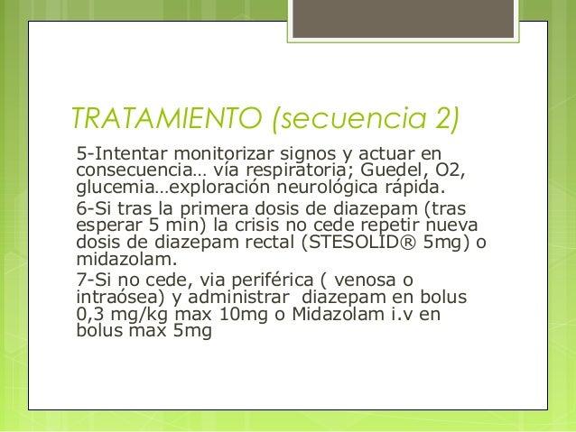 TRATAMIENTO (secuencia 2) 5-Intentar monitorizar signos y actuar en consecuencia… vía respiratoria; Guedel, O2, glucemia…e...