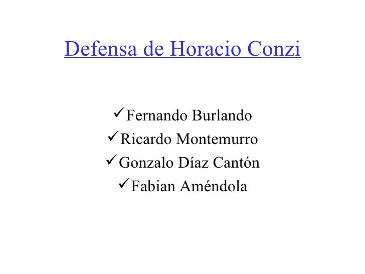 Horacio Conzi