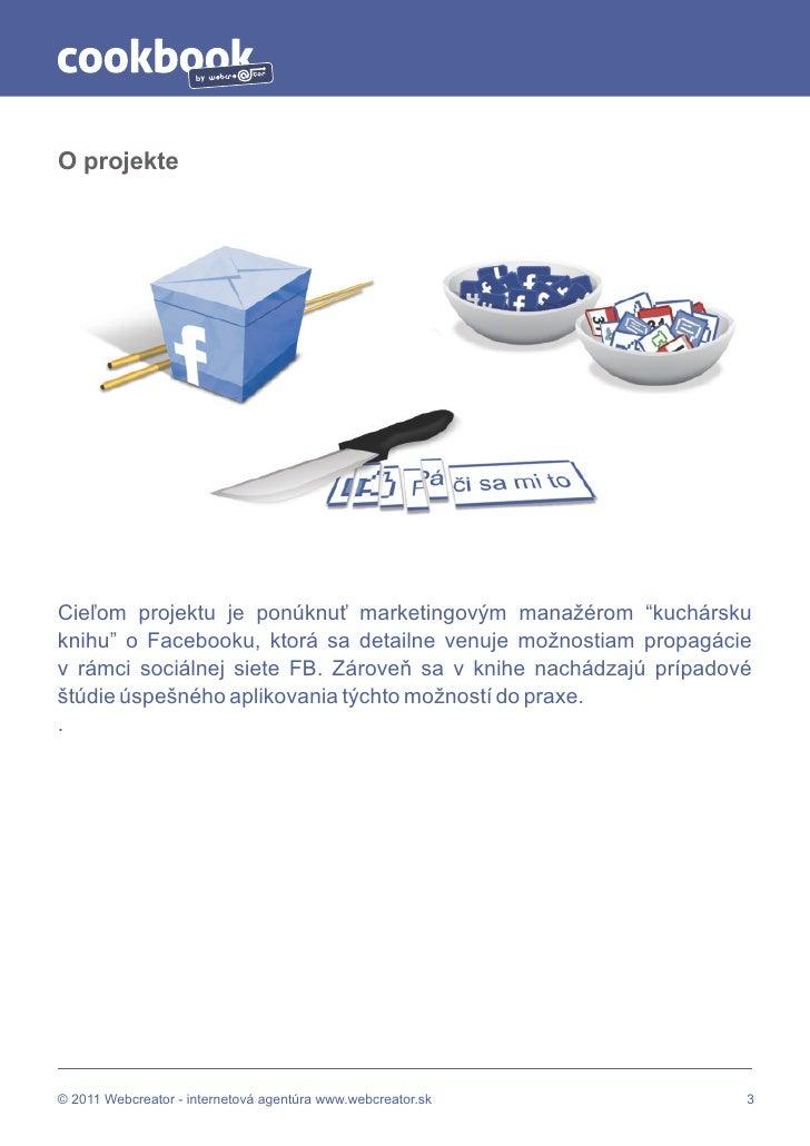 Cookbook - Všetko, čo marketér potrebuje vedieť o Facebook-u Slide 3