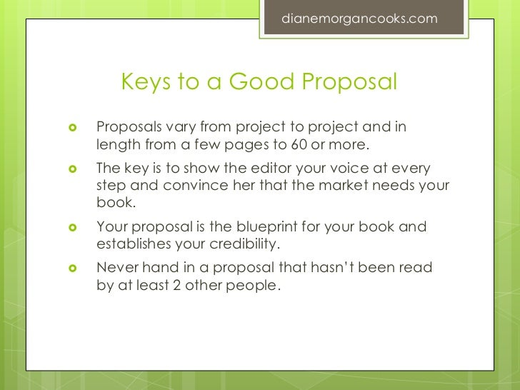 Writing And Selling A Winning Book Proposal  Diane Morgan