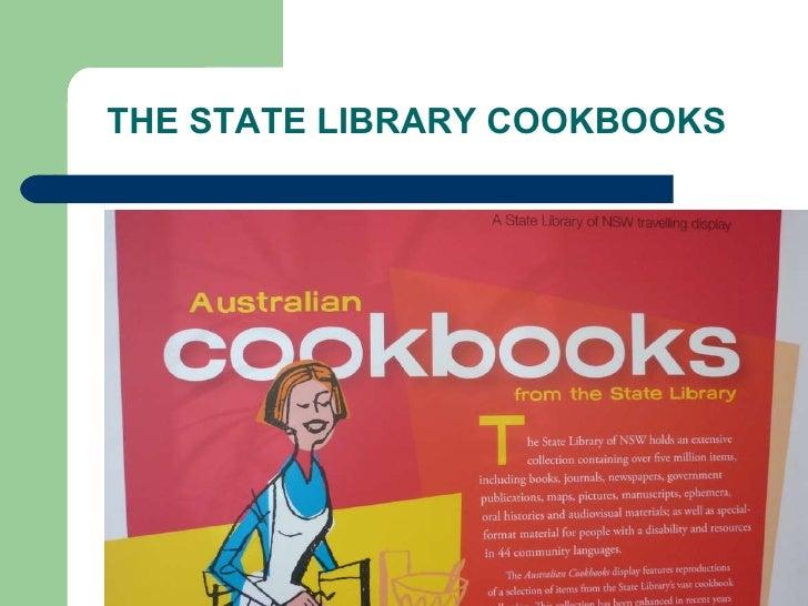 Parramatta City Library Cookbooks Display Slide 2