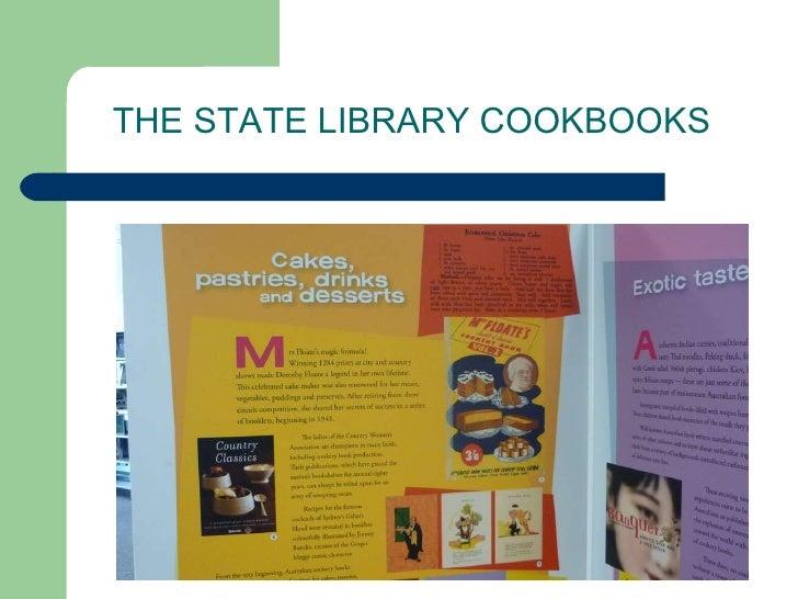 Parramatta City Library Cookbooks Display Slide 3