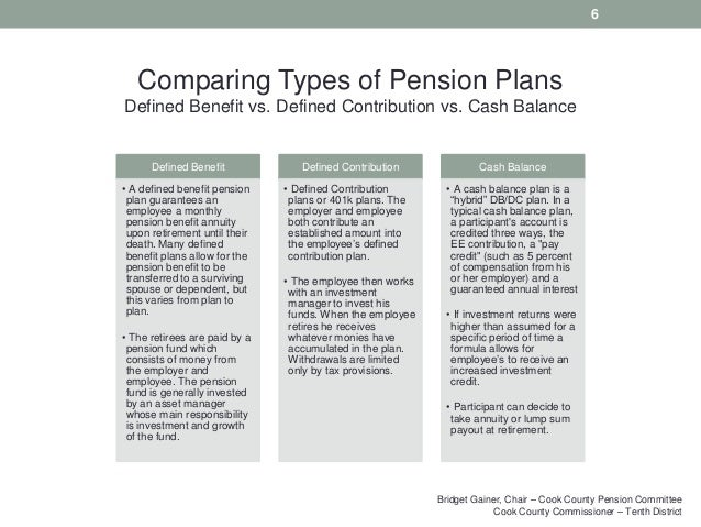 Pension plan vs cash balance plan investments how to get investment banker job