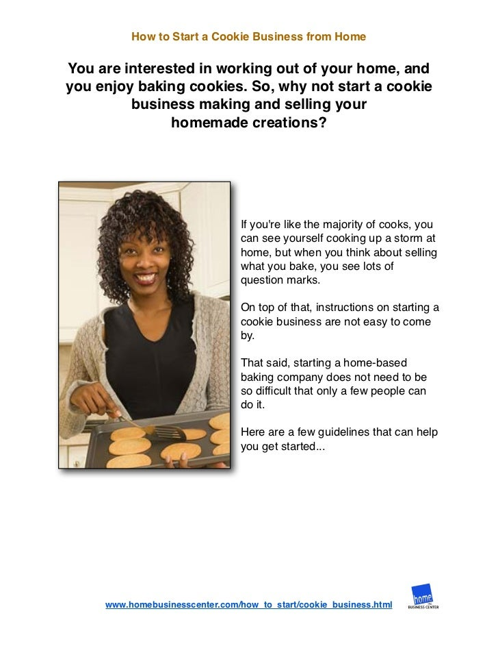 starting up a cookie company When starting a business, you will spend time thinking up just the right name you want something memorable that catches the imagination so naturally, naming your.
