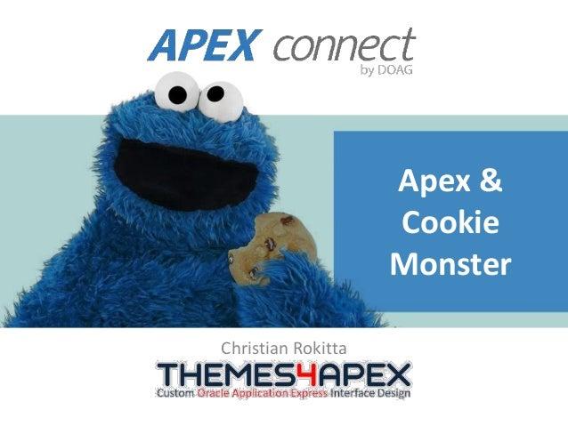 Apex & Cookie Monster Christian Rokitta