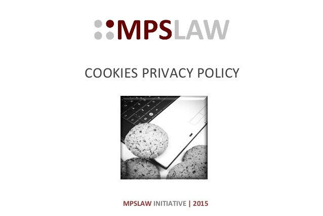 Cookies Privacy Policy by MPSLAW