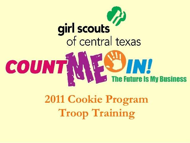 2011 Cookie Program Troop Training