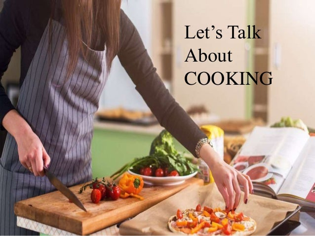 Let's Talk About COOKING