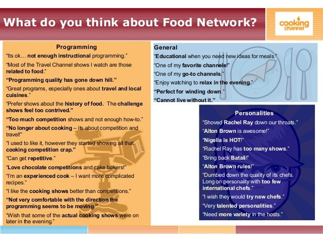 Cooking channel marketing project channel the food network bravo 55 forumfinder Choice Image