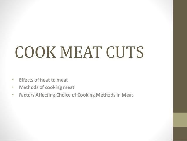 how to cook thick cuts of meat