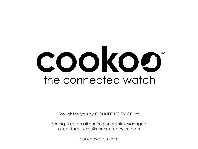 COOKOO Life User Guide (iOS)