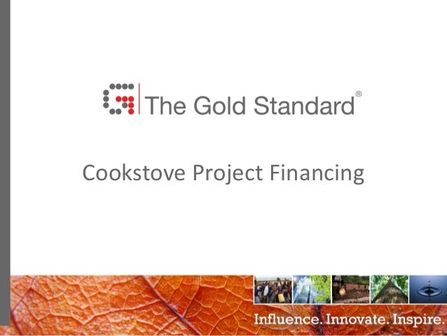 0 Cookstove Project Financing