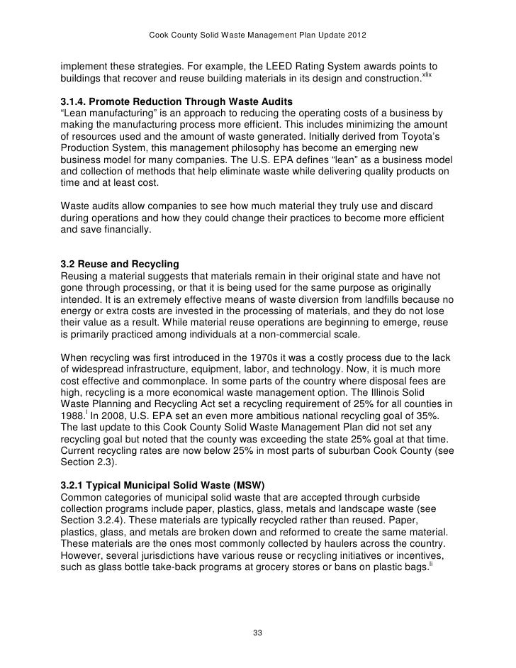 Essay Of Newspaper   Essays Term Papers also High School Essays Examples  Cook County Solid Waste Plan As Approved By The Cook County Boa Essay About High School