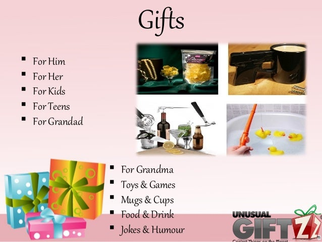 Cool And Unique Gift Ideas For Men Women From Unusual Giftz