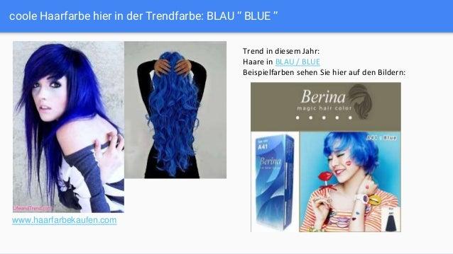 Coole Haarfarben In Grau Grün Orange Und Blau