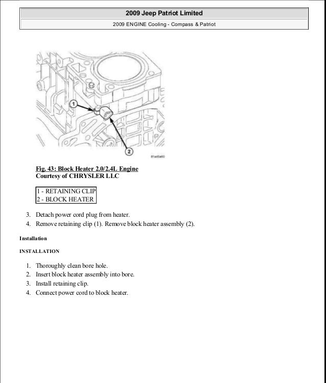 manual reparacion jeep compass patriot limited 2007 2009 cooling rh slideshare net Jeep Patriot Engine Diagram of 2009 Jeep Patriot Engine Diagram of 2009
