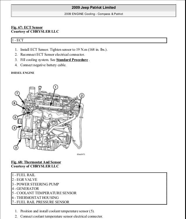manual reparacion jeep compass patriot limited 2007 2009 cooling rh slideshare net Honda 2.4 Engine Diagram 1998 Dodge Stratus Engine Diagram