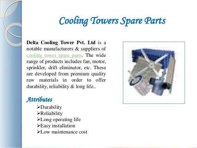 Cooling Tower Spare Parts Manufacturers Delhi Suppliers India