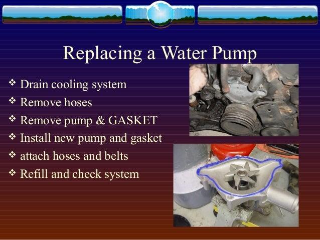 Water Cooling System: Water Cooling System In Ic Engines Ppt