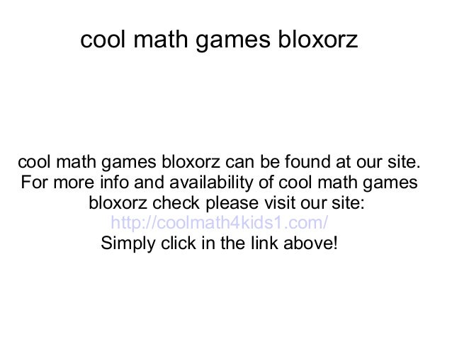 cool maths games 4 kids